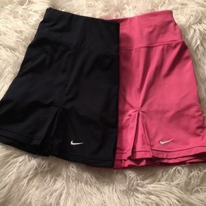Two Nike Dry Fit Tennis 🎾 skirts